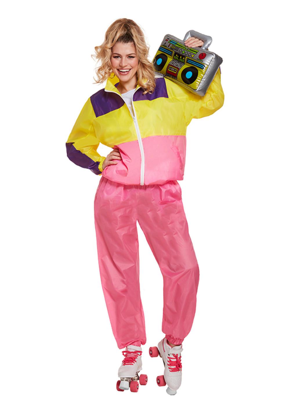 Ladies Shell Suit Costume