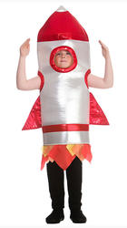 Space Mission Rocket Kids Costume