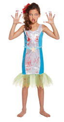 Zombie Mermaid Girls Costume