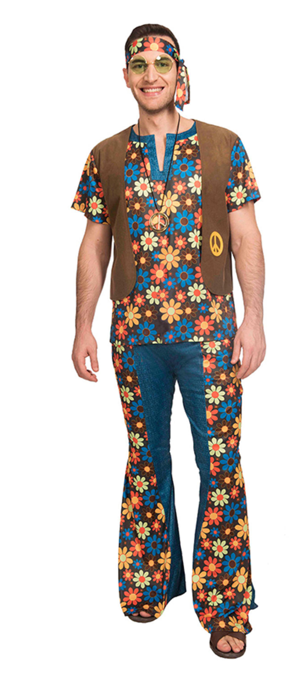 60s Groovy Hippie Man Costume