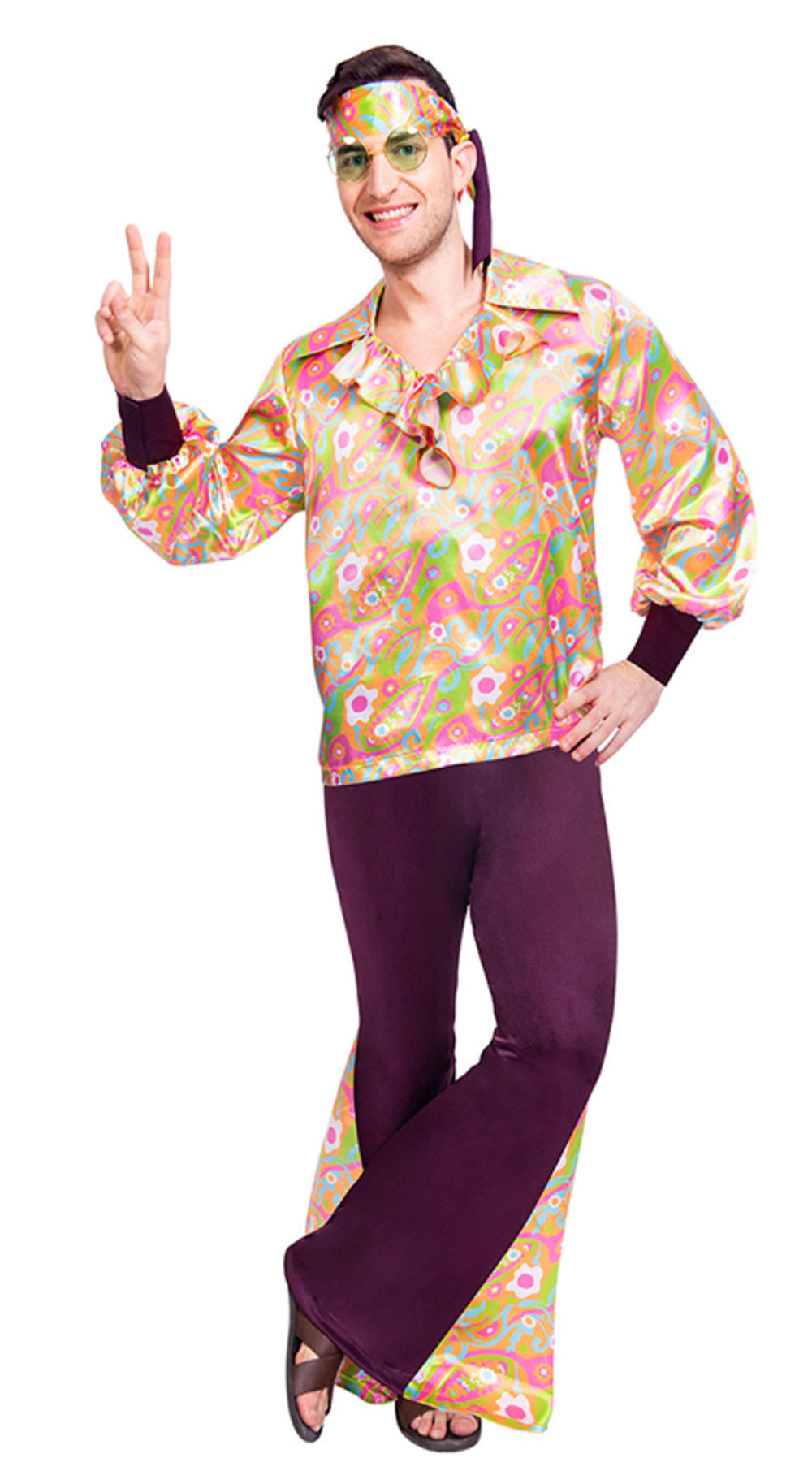 60s Groovy Guy Mens Costume