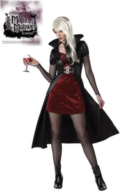 Blood Thirsty Vampire Beauty Costume