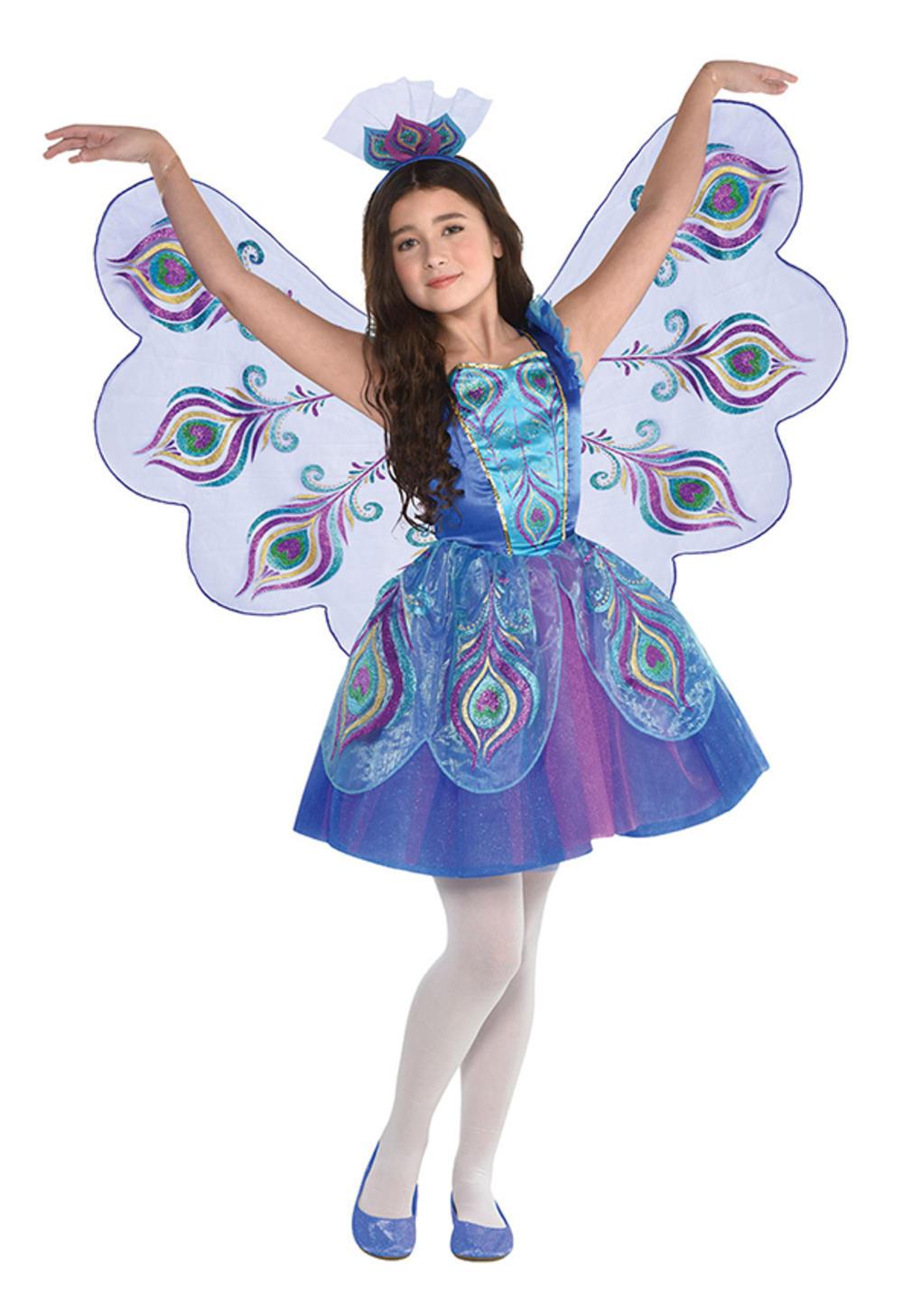 Pretty Peacock Girls Costume