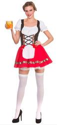 Oktoberfest Beer Girl Ladies Costume