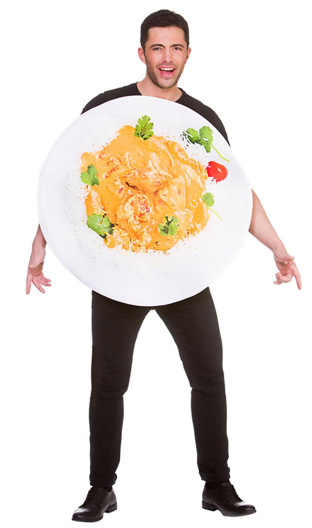 Funny Chicken Tikka Masala Costume