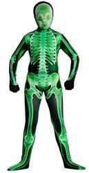 Kids Green X-Ray Skinz Costume