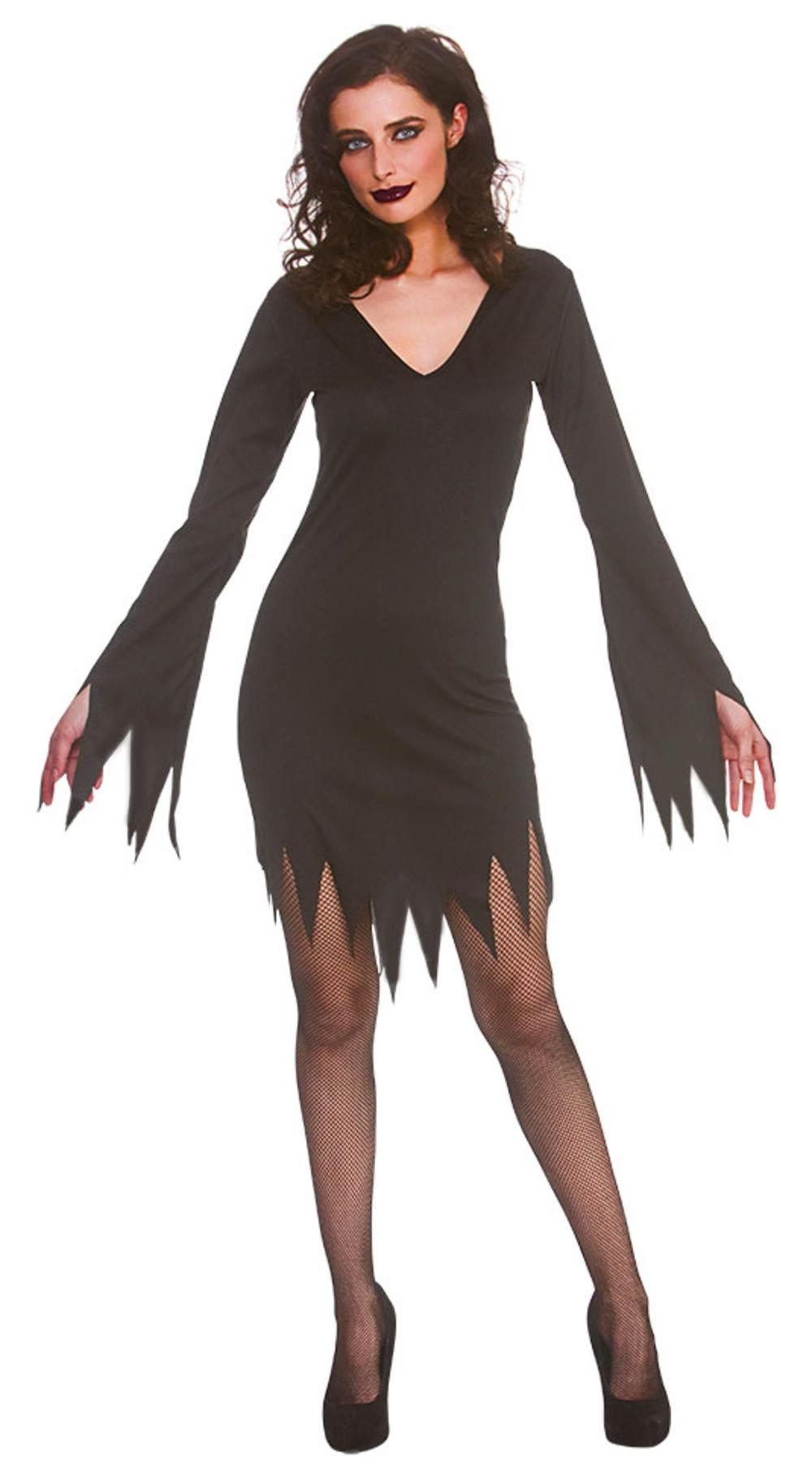 Short Black Gothic Dress