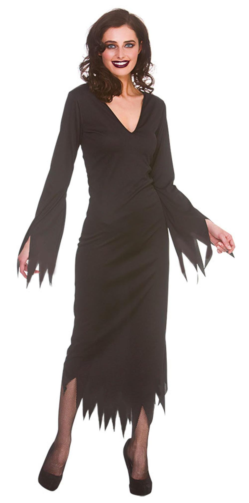 Long Black Gothic Dress