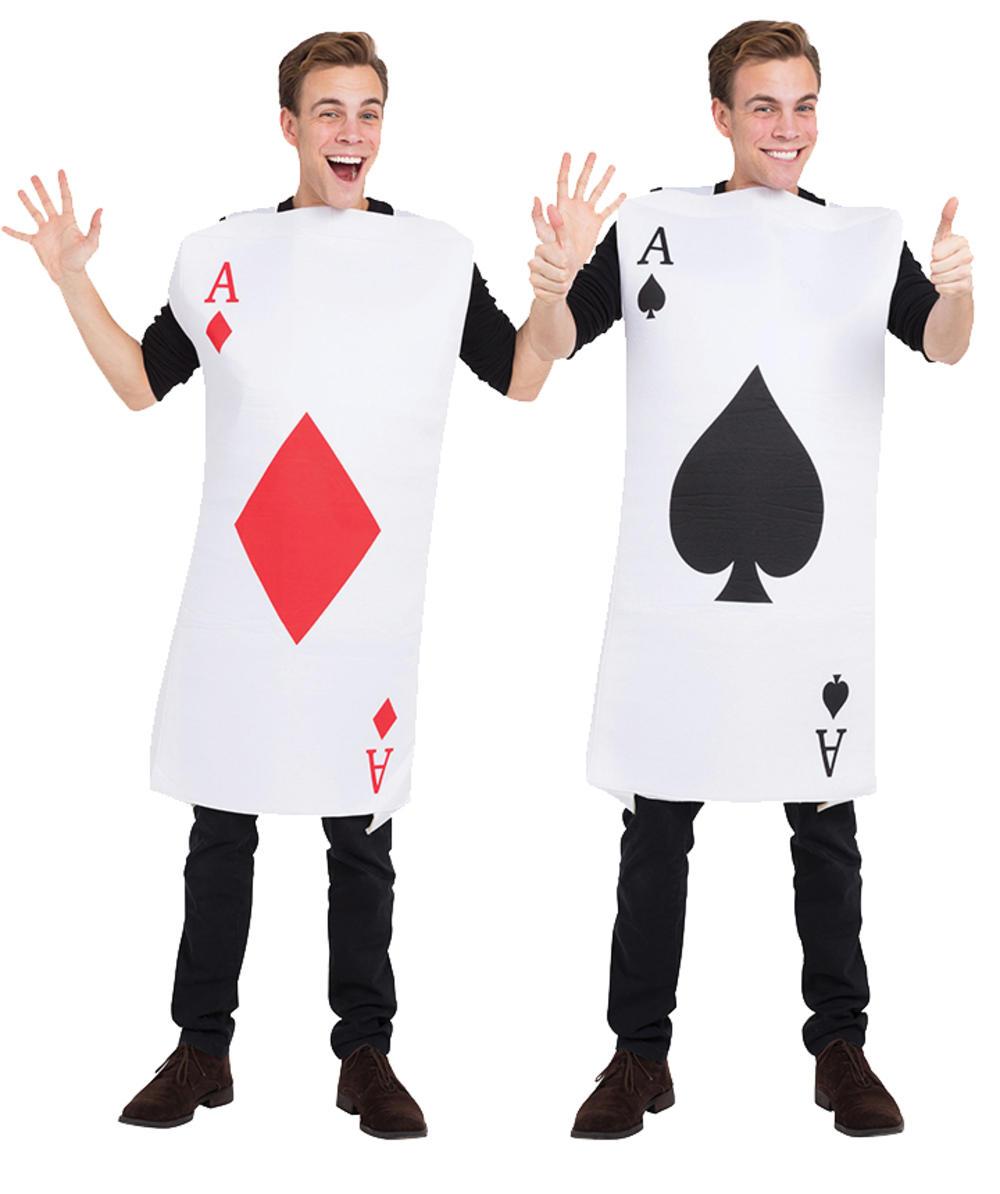 Adults Ace of Diamonds Costume