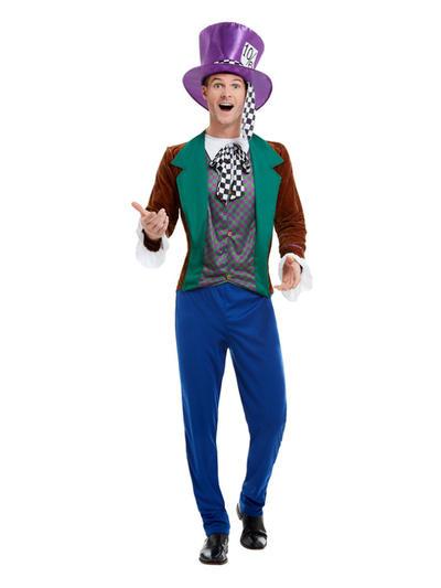 Mad Hatter Mens Fancy Dress Costume