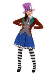 Miss Mad Hatter Ladies Costume