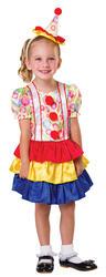 Clown Cutie Girls Costume