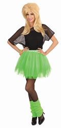 Ladies 80s Green Tutu