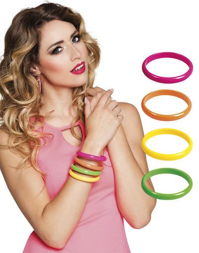 4 Colourful Bracelets