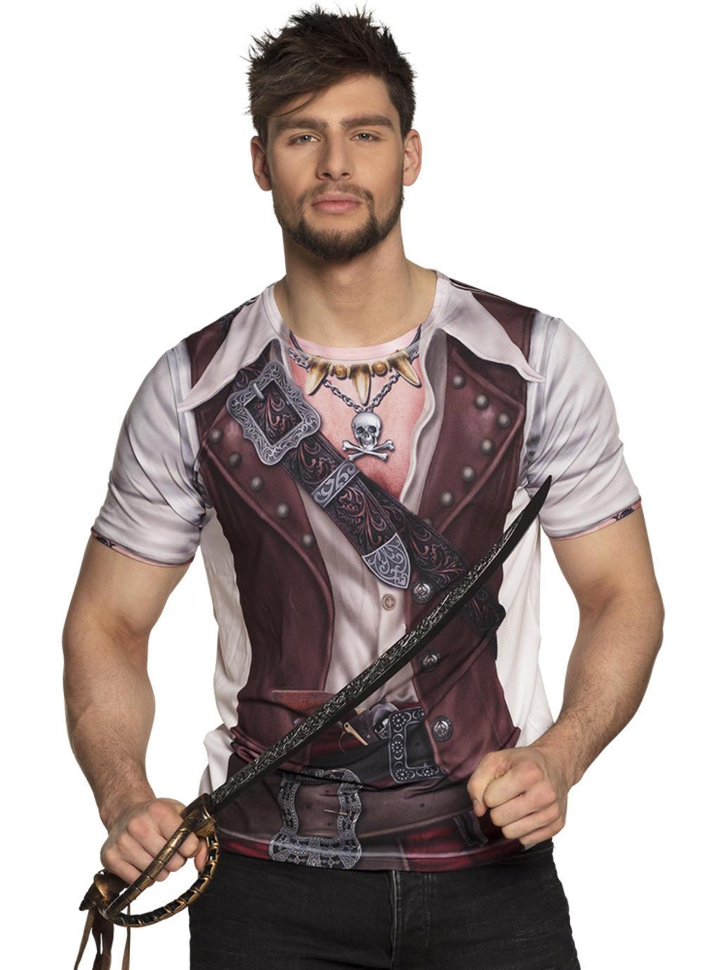 Adults Photorealistic Pirate Shirt