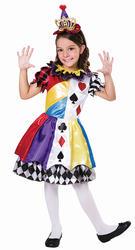 Clown Princess Girls Costume