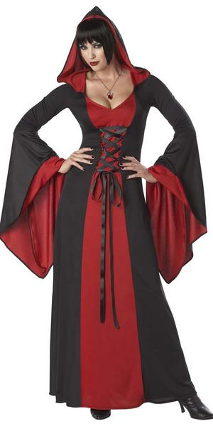 Red Hooded Costume