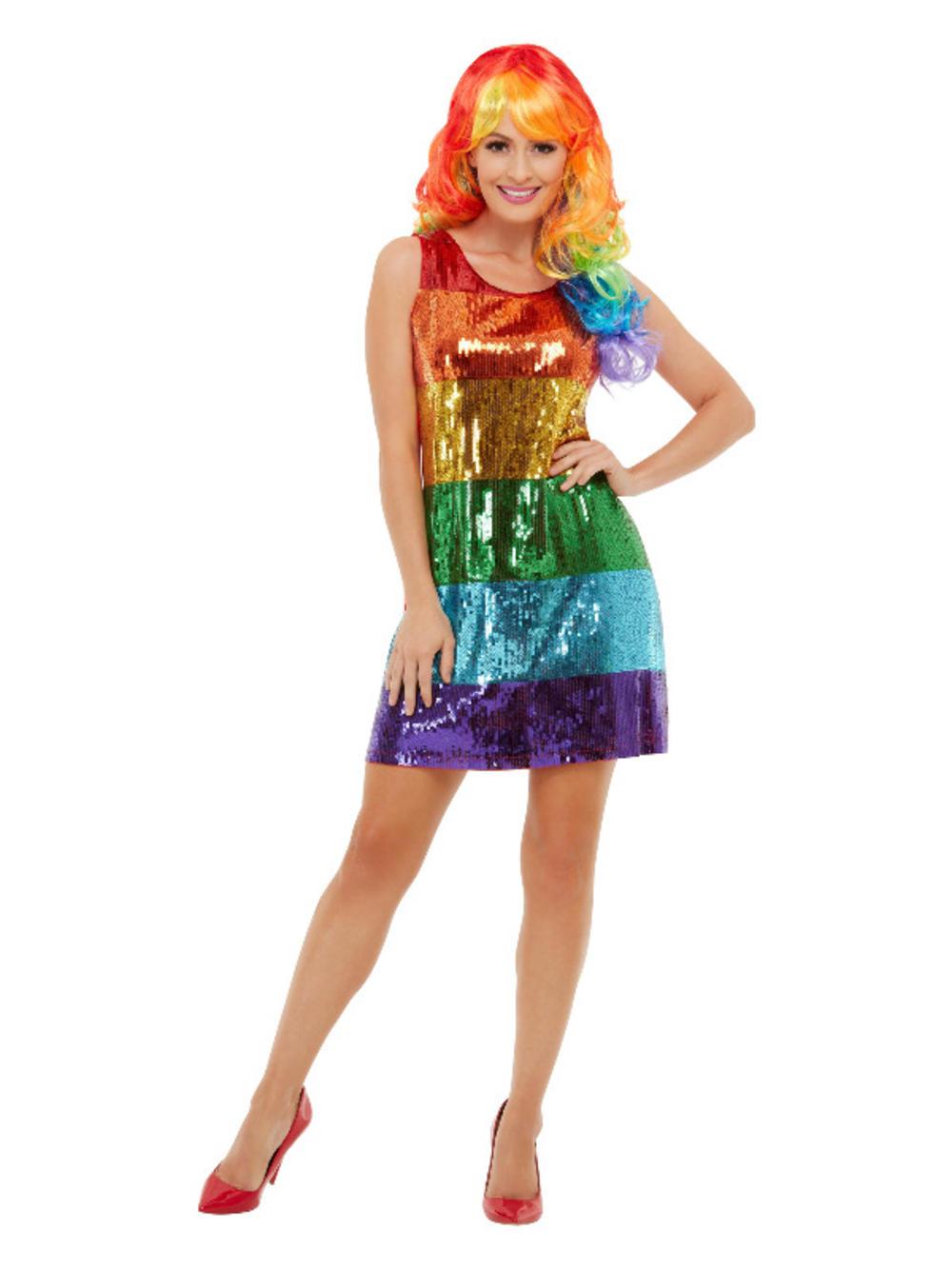 All That Glitters Rainbow Ladies Costume