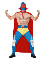 Mexican Wrestler Mens Costume