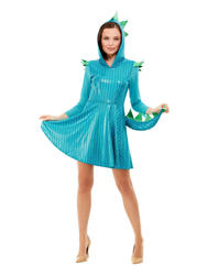Blue Dragon Ladies Costume