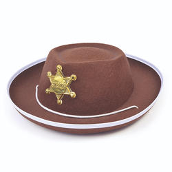 Kids Brown Cowboy Hat