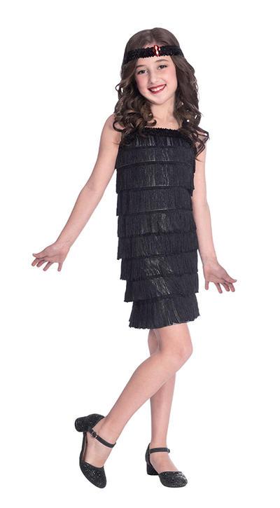 Black Flapper Girl Costume