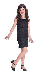 Black Flapper Girl Costume