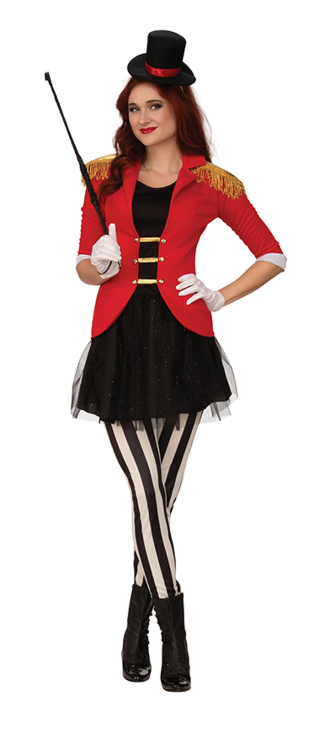 Ladies Ringmaster Costume