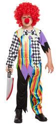 Kids Clown Costume Small