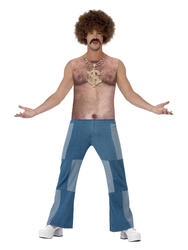 Realistic 70s Hairy Chest Top