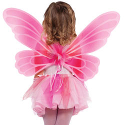 Pink Princess Fairy Wings