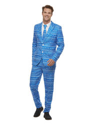 Mens Wrapping Paper Suit