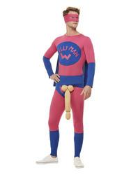 Willyman Superhero Mens Costume