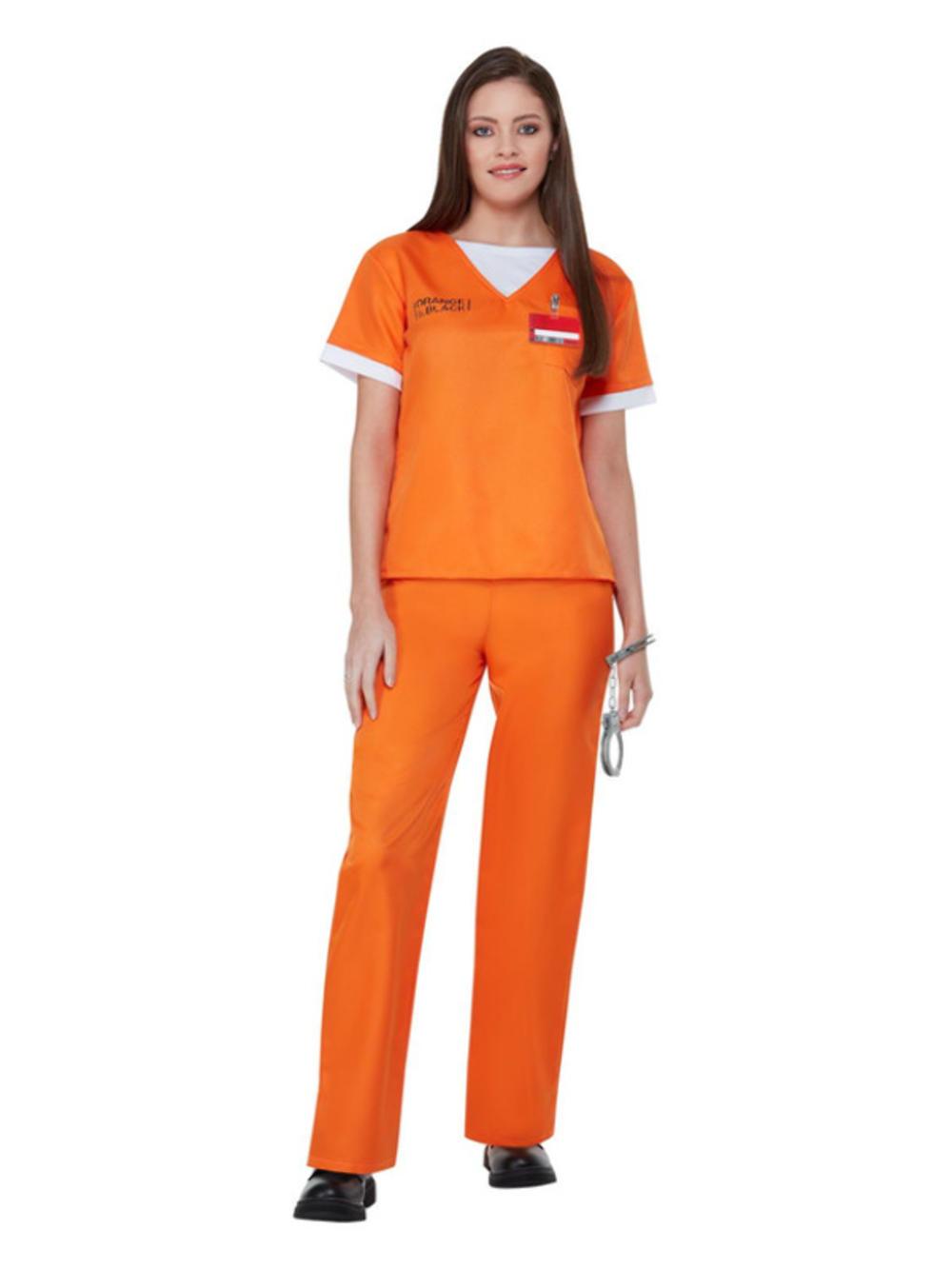 Orange is The New Black Prison Uniform Costume