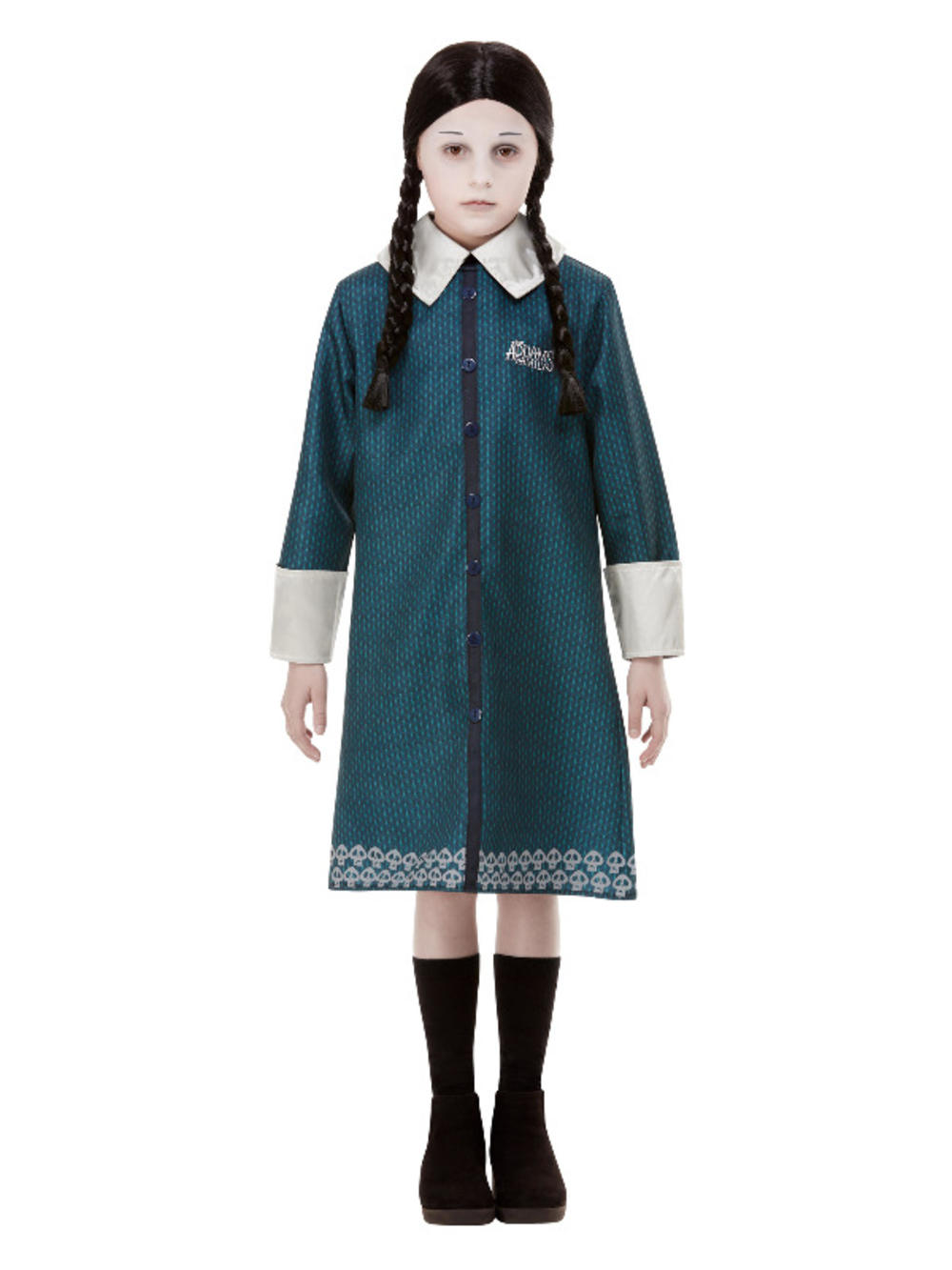 Wednesday Addams Family Girls Costume