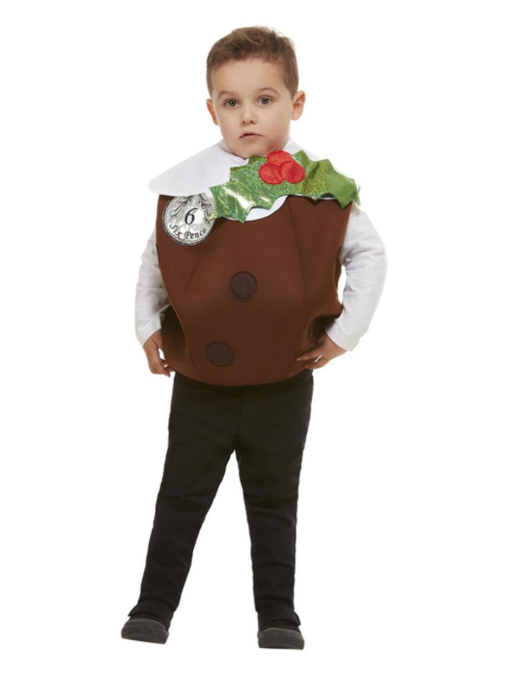 Kids Christmas Pudding 3D Costume