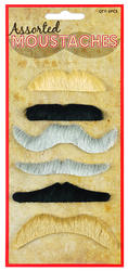Assorted Moustache Set