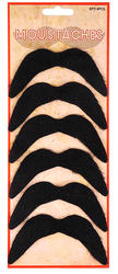 Black Moustache Set