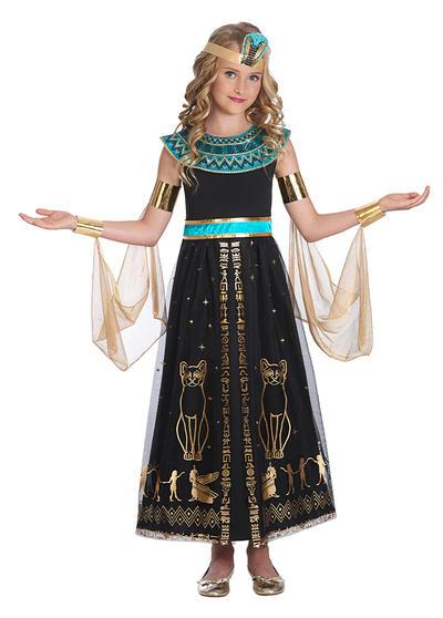 Dazzling Cleo Girls Costume