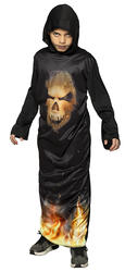 Mr Skull Fire Boys Costume