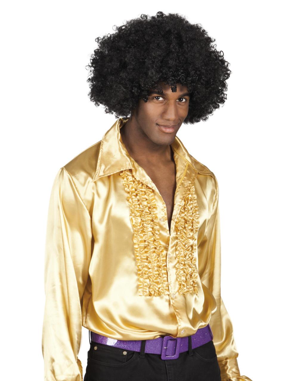 Mens Gold Party Shirt