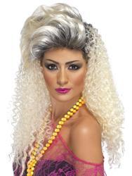 80's Bottle Women's Wig Costume Accessory
