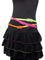 80s Neon Belts Costume Accessory