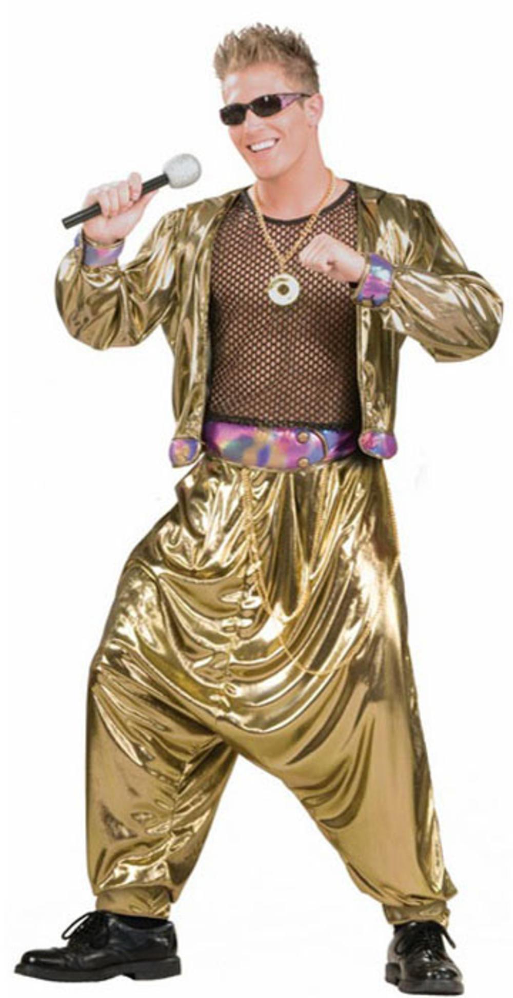 80s Video Super Star Rapper Costume Accessory