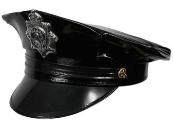 Adults Deluxe Cop Hat Costume Accessory