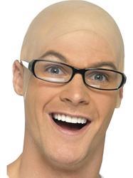 Bald Head Cap Costume Accessory