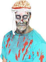 Bandage Brain Hat Costume Accessory