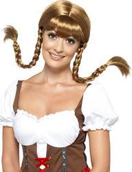 Bavarian Babe Women's Wig Costume Accessory