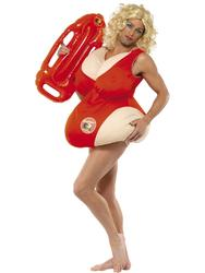 Baywatch Padded Swimsuit Costume Accessory