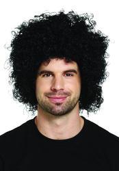Black Afro Wig Costume Accessory